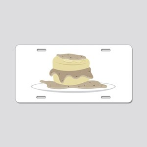 Biscuits and Gravy Aluminum License Plate
