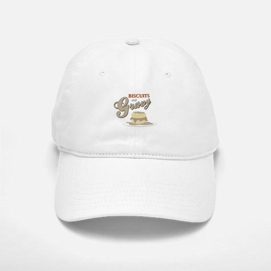 Biscuits & Gravy Baseball Baseball Baseball Cap