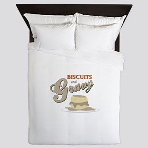 Biscuits & Gravy Queen Duvet