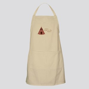 Creepy in the Teepee Apron