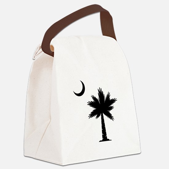 Palmetto Moon Canvas Lunch Bag