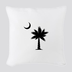 Palmetto Moon Woven Throw Pillow