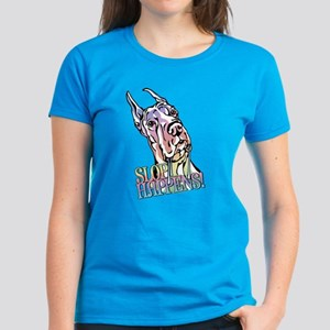 Slop Happens Pastel Women's Dark T-Shirt
