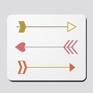 Cupids Arrows Mousepad