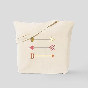 Cupids Arrows Tote Bag