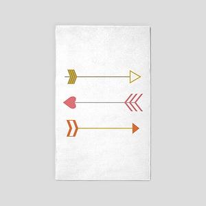 Cupids Arrows 3'x5' Area Rug