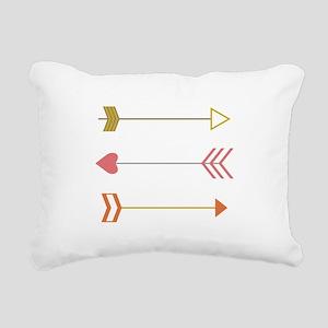 Cupids Arrows Rectangular Canvas Pillow