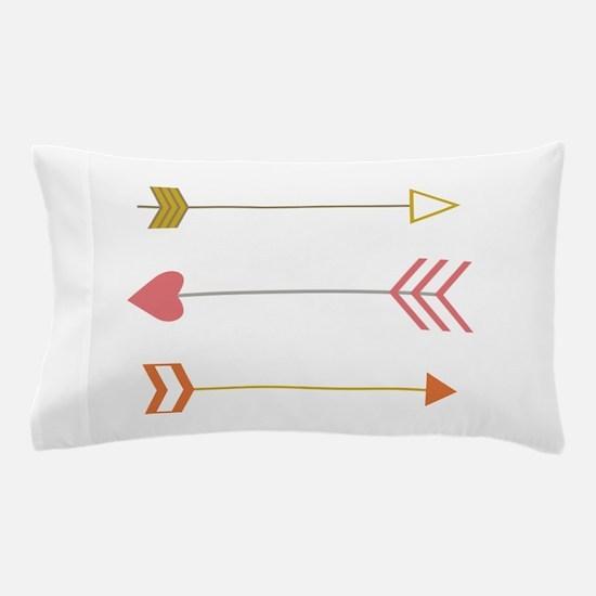 Cupids Arrows Pillow Case