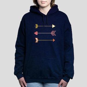 Cupids Arrows Women's Hooded Sweatshirt