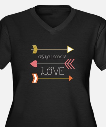 All You Need Plus Size T-Shirt