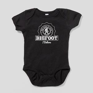 Bigfoot I Believe Baby Bodysuit