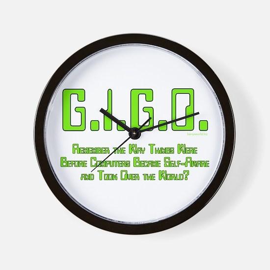 G.I.G.O. 2 Wall Clock