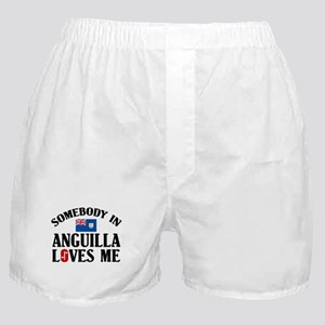 Somebody In Anguilla Boxer Shorts