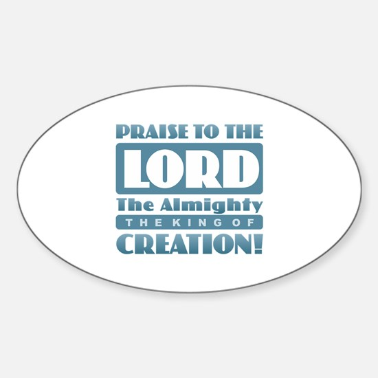 Praise the Lord Decal