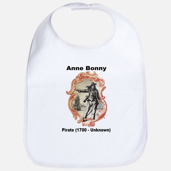 Anne Bonny Pirate Bib