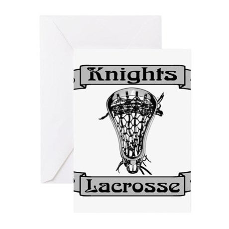 Lacrosse Knights Greeting Cards (Pk of 10)