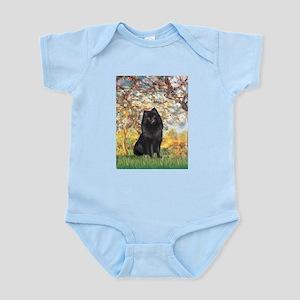 Spring & Schipperke Infant Bodysuit