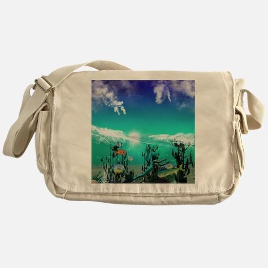Mermaid Messenger Bag