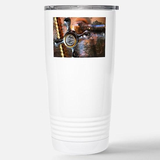 Hot Water Stainless Steel Travel Mug