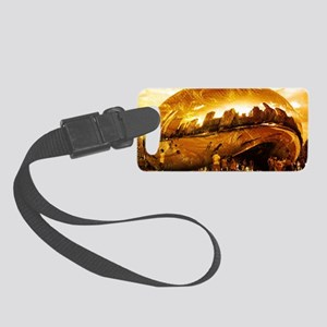 Chicago Gold Small Luggage Tag