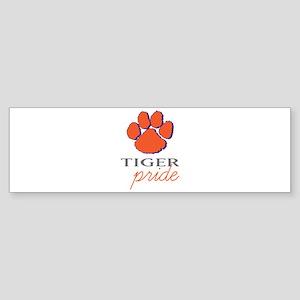 Tiger Pride Bumper Sticker