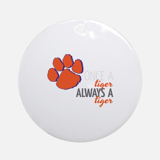 Once Always Ornament (Round)