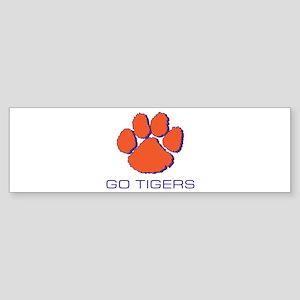 Go Tigers Bumper Sticker
