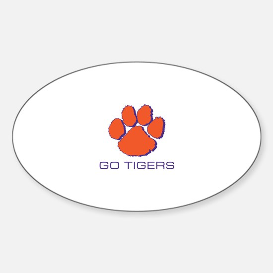 Go Tigers Decal