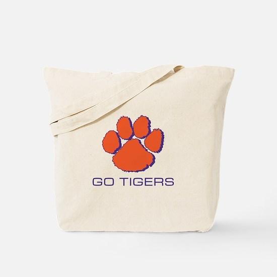 Go Tigers Tote Bag