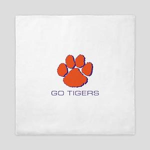 Go Tigers Queen Duvet