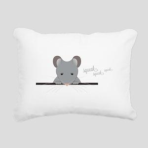 Mouse Squeak Rectangular Canvas Pillow