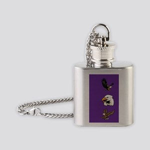 Eagle Head Flask Necklace