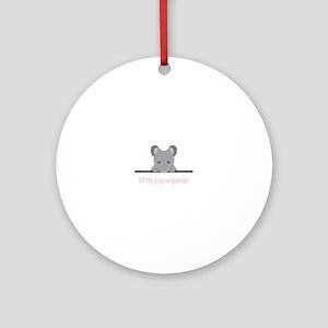 Little Pip Squeak Ornament (Round)