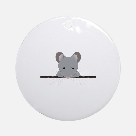 Pocket Mouse Ornament (Round)