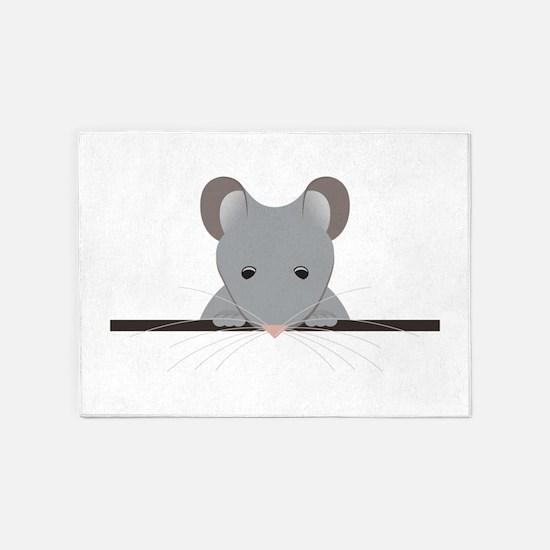 Pocket Mouse 5'x7'Area Rug