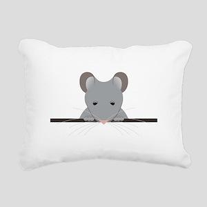 Pocket Mouse Rectangular Canvas Pillow