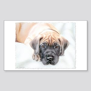 Ransom Fawn Puppy Rectangle Sticker