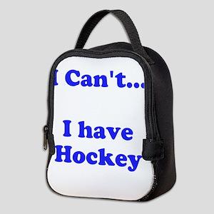 I Have Hockey Neoprene Lunch Bag