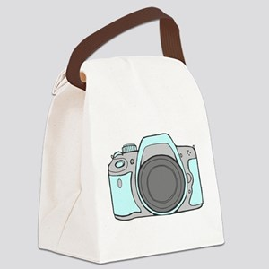 Mint Camera DSLR Canvas Lunch Bag