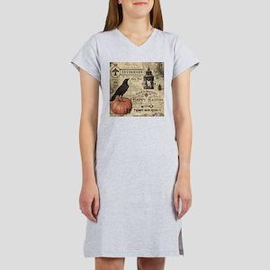Modern vintage Halloween Women's Nightshirt