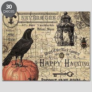 Modern vintage Halloween Puzzle