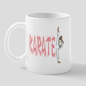 Karate (Pink) Mug