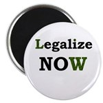 "Legalize Now 2.25"" Magnet (10 pack)"