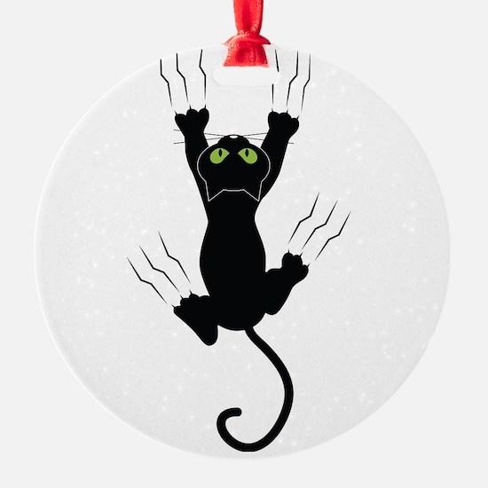 Cat Scratching Ornament