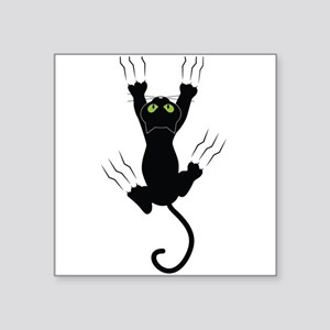 Cat Scratching Sticker