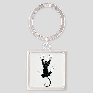 Cat Scratching Keychains
