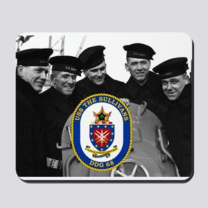 USS The Sullivans DDG-68 Mousepad