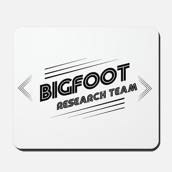 Bigfoot Research Team Mousepad