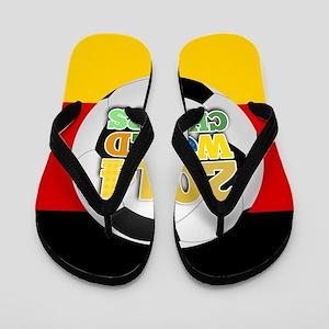 2014 World Champs Ball - Germany Flip Flops