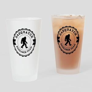 Sasquatch Research Team Drinking Glass
